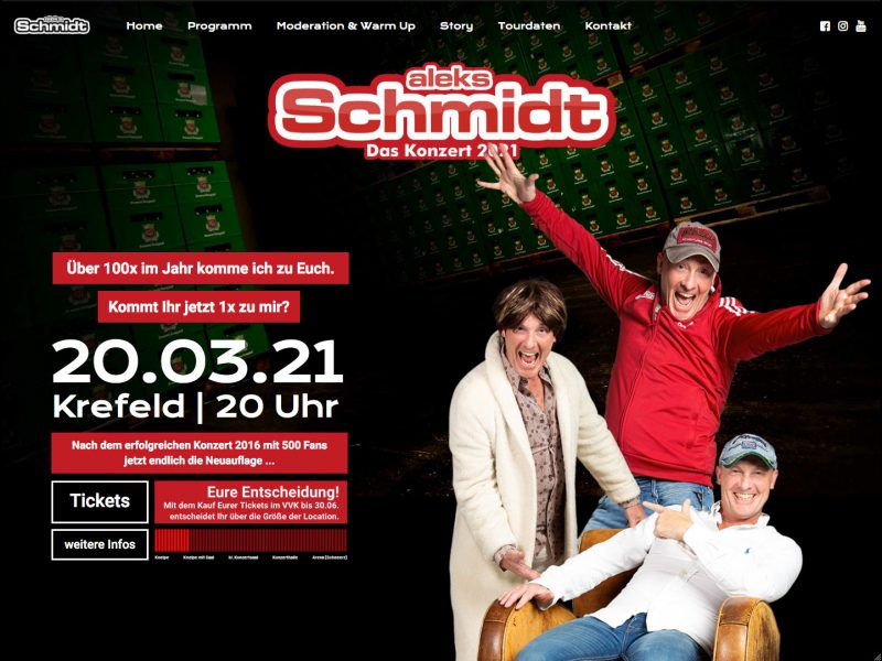 Web Design aleks Schmidt